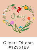 Flowers Clipart #1295129 by Vector Tradition SM