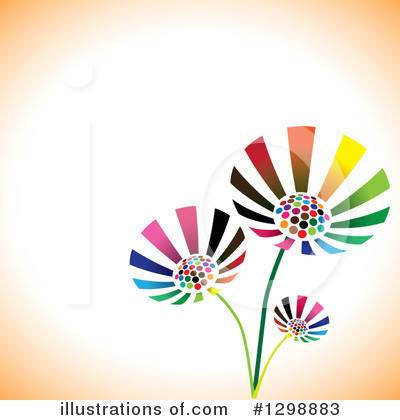 Flower Clipart #1298883 by ColorMagic