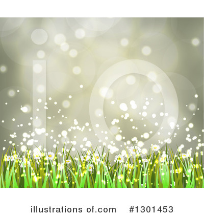 Daisies Clipart #1301453 by vectorace