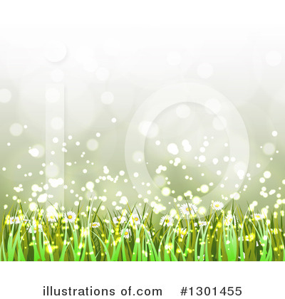 Daisies Clipart #1301455 by vectorace
