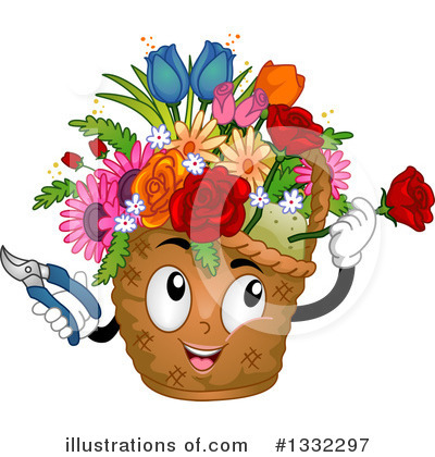 Flower Clipart #1332297 by BNP Design Studio