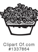 Royalty-Free (RF) Flowers Clipart Illustration #1337864