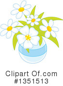 Royalty-Free (RF) Flowers Clipart Illustration #1351513