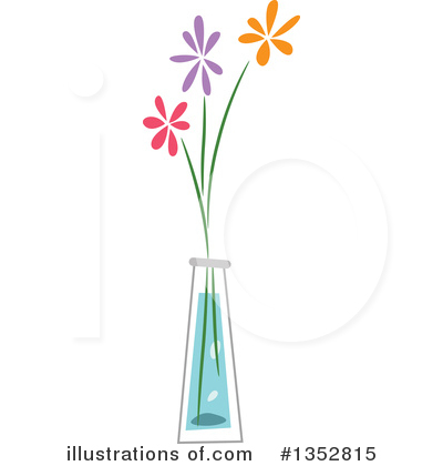 Flower Clipart #1352815 by BNP Design Studio