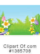 Royalty-Free (RF) Flowers Clipart Illustration #1385708