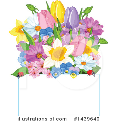 Blossoms Clipart #1439640 by Pushkin
