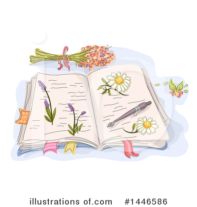 Royalty-Free (RF) Flowers Clipart Illustration by BNP Design Studio - Stock Sample #1446586