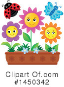 Royalty-Free (RF) Flowers Clipart Illustration #1450342