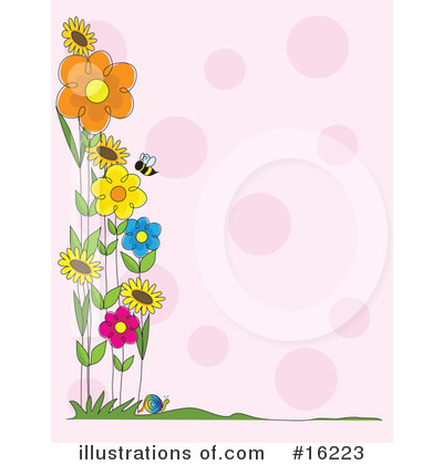 Flowers Clipart #16223 by Maria Bell