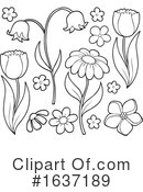 Flowers Clipart #1637189 by visekart