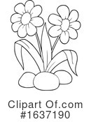 Flowers Clipart #1637190 by visekart