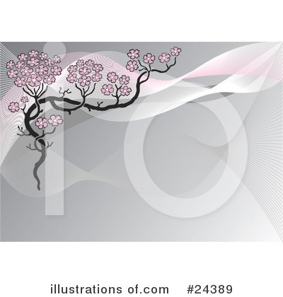 Cherry Blossoms Clipart #24389 by Eugene