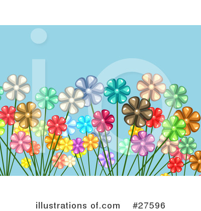 Daisies Clipart #27596 by KJ Pargeter