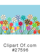Flowers Clipart #27596 by KJ Pargeter