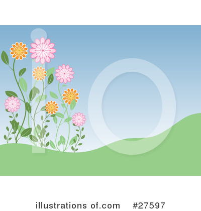 Daisies Clipart #27597 by KJ Pargeter