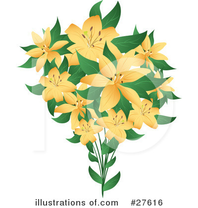 Lilies Clipart #27616 by KJ Pargeter