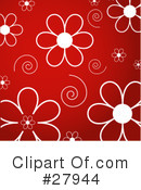Royalty-Free (RF) Flowers Clipart Illustration #27944