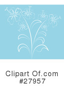 Flowers Clipart #27957 by KJ Pargeter
