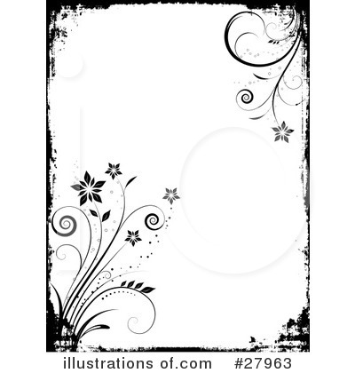 black and white flower clip art free. flower clip art free.