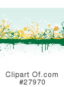 Flowers Clipart #27970 by KJ Pargeter