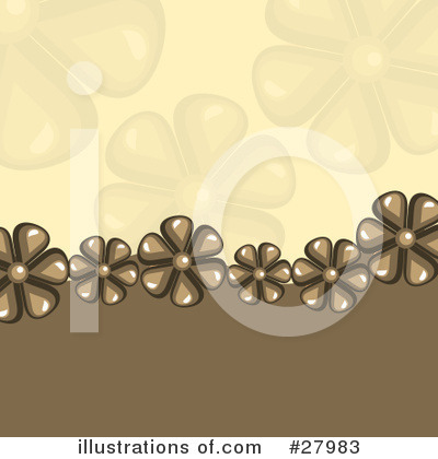 Daisies Clipart #27983 by KJ Pargeter