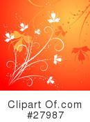 Flowers Clipart #27987 by KJ Pargeter