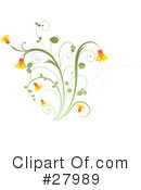 Flowers Clipart #27989 by KJ Pargeter