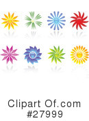 Flowers Clipart #27999 by KJ Pargeter