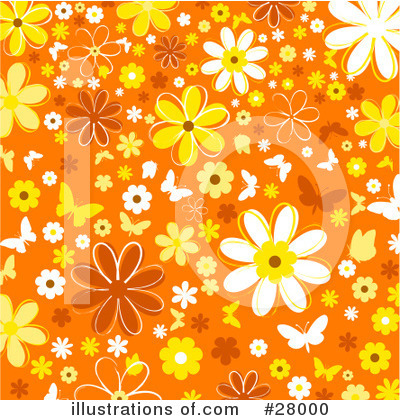 Daisies Clipart #28000 by KJ Pargeter
