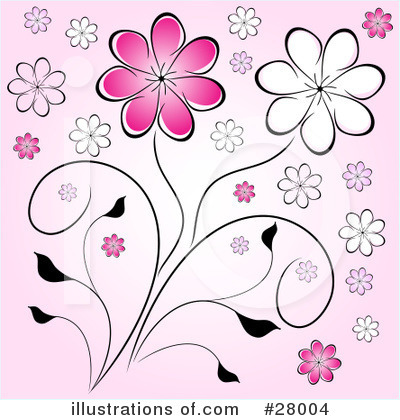 Daisies Clipart #28004 by KJ Pargeter