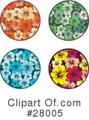 Flowers Clipart #28005 by KJ Pargeter