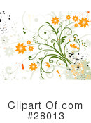 Flowers Clipart #28013 by KJ Pargeter