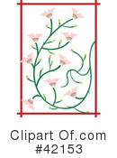 Royalty-Free (RF) Flowers Clipart Illustration #42153