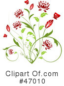 Flowers Clipart #47010 by KJ Pargeter