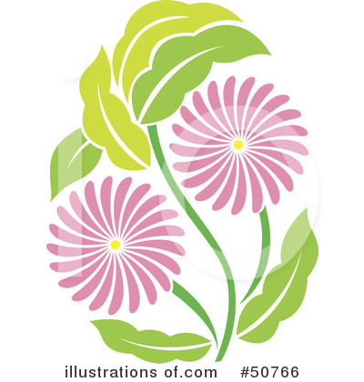 Flower Clipart #50766 by Cherie Reve