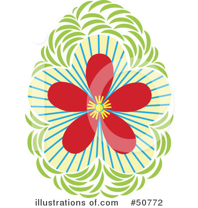 Floral Clipart #50772 by Cherie Reve
