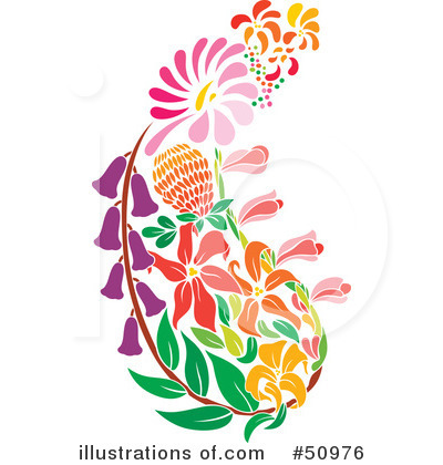 Flower Clipart #50976 by Cherie Reve