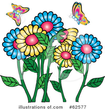 Flowers Clipart #62577 by Pams Clipart