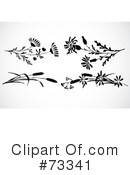 Flowers Clipart #73341 by BestVector