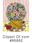 Flowers Clipart #86862 by Maria Bell