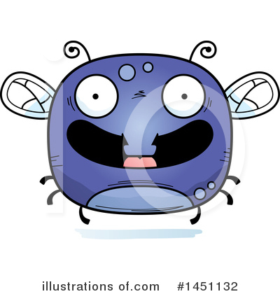 House Fly Clipart #1451132 by Cory Thoman