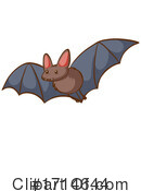 Flying Bat Clipart #1714644 by Graphics RF