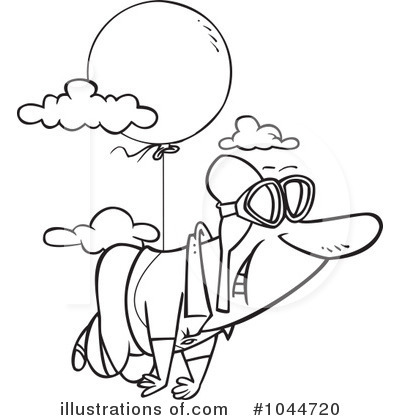 Pilot Clipart #1044720 by toonaday