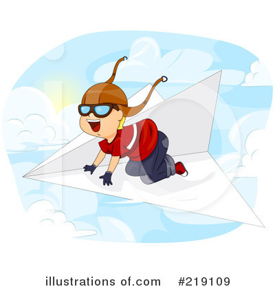 Airplane Clipart #219109 by BNP Design Studio