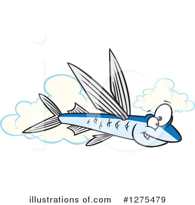 Fish Clipart #1275479 by toonaday