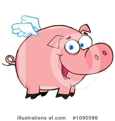 Pig Clipart #1095586 by Hit Toon