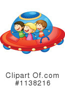Flying Saucer Clipart #1138216 by Graphics RF