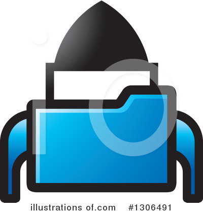 Folder Clipart #1306491 by Lal Perera