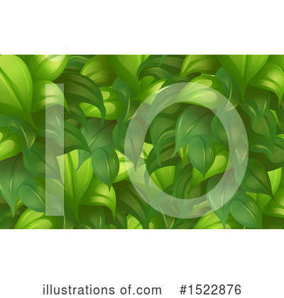 Leaves Clipart #1522876 by Graphics RF