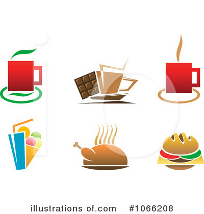 Milkshake Clipart #1066208 by Vector Tradition SM
